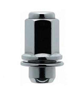 White Knight 5309DL-4 Chrome Duplex Long Mag Lug Nut with Washer for Toyota/Lexus – 4 Piece
