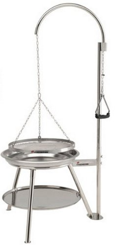 landmann-geos-firewood-barbecues-grills-silver-round-stainless-steel