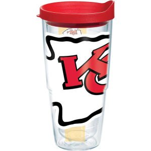 Tervis Tumbler NFL Kansas City Chiefs Colossal Wrap 24oz with Travel Lid at Amazon.com