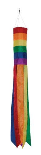 In the Breeze Rainbow Column Valuesock, 50-Inch