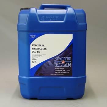 Smith & Allan Zinc Free Hydraulic Oil 46 : Size - 20lt