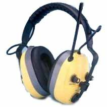 Quietunes Fm Stereo Electronic Ear Muff, Rechargeable, Balance Control, 15.4 Oz. Weight, 25 Nrr