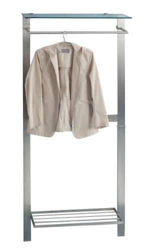 Garderobe hutablage metall preis vergleich 2016 for Garderobe 8003