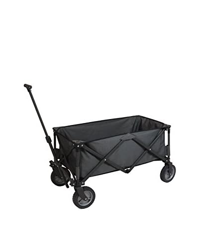 Picnic Time Adventure Wagon With All Terrain Wheels, Dark Grey