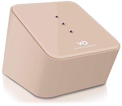 White Diamonds Speaker Bluetooth Universale con Cristalli Swarovski, Giallo