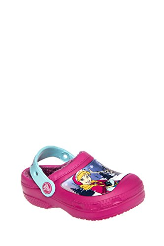 Girl's Frozen Fuzz Lined Clog