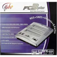 Fc3Plus Multi Video Games System (Nes+Snes+Genesis+G Factor) front-338115