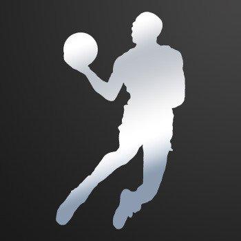 Basketball Player Jump dunk... Chrome Mirror (16 X 9.6 inch) ZEZZ9