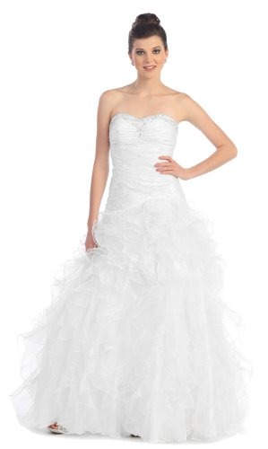 Once upon a time costume ideas for fairytale land characters for Snow white wedding dress once upon a time