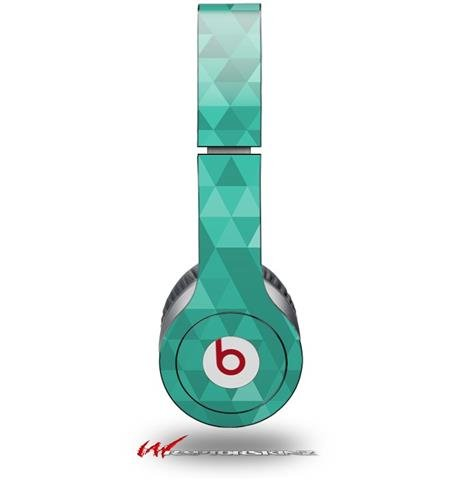 Triangle Mosaic Seafoam Green Decal Style Skin (Fits Genuine Beats Solo Hd Headphones - Headphones Not Included)
