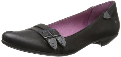 Fly London Womens Elsa Ballet Flats P143057000 Black 6 UK, 39 EU