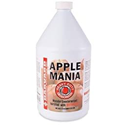 Harvard Chemical - Apple Mania Fragrance Deodorizer - Malodor Counteractant Fortified with UltraZymes - 1 Gallon