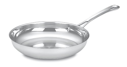 Cuisinart 422-24 Contour Stainless 10-Inch Open Skillet (Skillet 10 Inch Stainless Steel compare prices)
