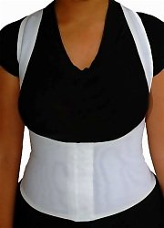 New! Posture Corrector Trainer Back Support Brace, Large