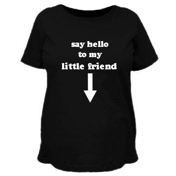 Say Hello: Custom Maternity T-Shirt