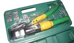 Inline Design Hydraulic Crimping/Swaging Tool Kit 12 Ton Cable Crimper Dies