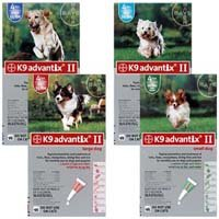 Advantix II 4-Month Dogs 1-10Lbs (Green) @ (Advantage Ii For Dogs Small compare prices)