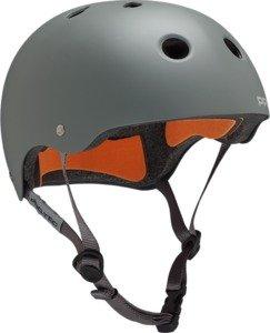 PRO-TEC Classic Matte Grey / Orange Small Skateboard Helmet
