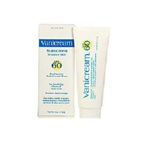 Vanicream Sunscreen, Sensitive Skin, Spf 60, 4-ounce