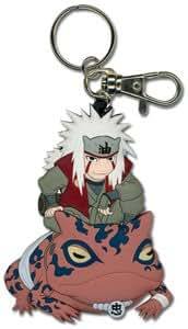Naruto Jiraiya PVC Keychain GE-3888