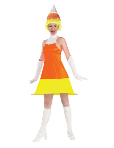 Adult-Costume Candy Corn Adult Costume Halloween Costume