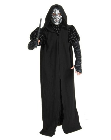 Rubies Costume Co Men's Harry Potter Death Eater Deluxe Costume