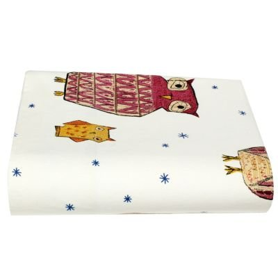 Starry Night Flannel Flat Sheet, Queen - The Company Store