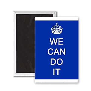 Amazon.com - We Can Do It - 3x2 inch Fridge Magnet - large ...