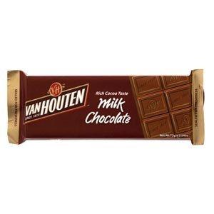 Van Houten Milk Chocolate 72g.