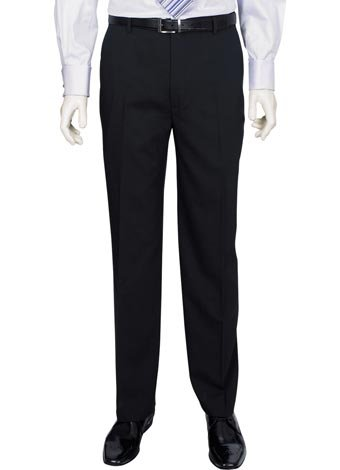 Austin Reed Black Travel Suit Trouser SHORT MENS 34