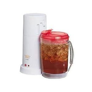 Automatic Iced Coffee Maker : Amazon.com: Mr. Coffee TM3-2W 3-Quart Iced Tea Maker: Electric Ice Tea Machines: Kitchen & Dining