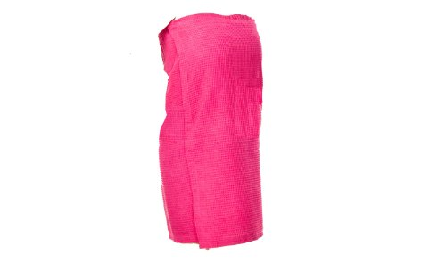 Monogrammed Hot Pink Spa Wrap Bridesmaids Gifts, Wedding Party Presents front-944460