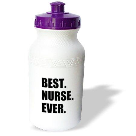 Wb_179785_1 Inspirationzstore Typography - Best Nurse Ever - Worlds Greatest Nursing Staff Worker Fun Nurses Day - Water Bottles front-237350