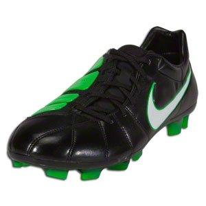 Nike Mens Soccer Cleats TOTAL90 LASER ELITE FG Black/White/Electric Green SZ 8.5