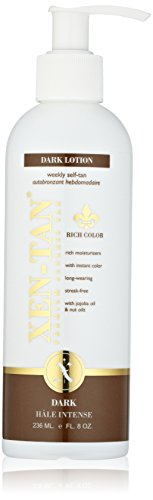 Xen-Tan-Dark-Lotion-For-An-Instant-Color-A-Premium-Sunless-Tan-For-Face-Body-with-Jojoba-Nut-Oils-236ml