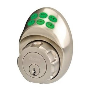 Keypad Deadbolt Yale Satin Nickel