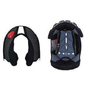 Scorpion EXO-900 Helmet Kwikwick Liner Set Small scorpion face shield exo 200 harley touring motorcycle helmet accessories light smoke