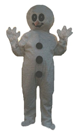 Mascots USA by CJs Huggables Custom Professional Low Cost Snowman Mascot Costume