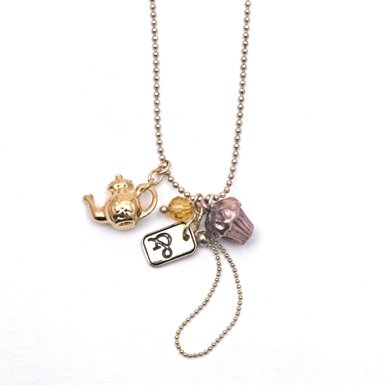 Tea & Cake Necklace