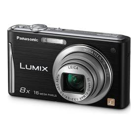 Panasonic Lumix DMC-FH27 - Digital camera - compact - 16.1 Mpix - optical zoom: 8 x - supported memory: SD, SDXC, SDHC - black