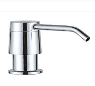 Stainless Steel Build In Deck Mount Kitchen Sink Soap Dispenser Chrome, Deck Undermount Sink Countertop Dispenser Pump (Undermount Kitchen Soap Dispenser compare prices)