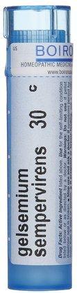 Boiron Gelsemium Sempervirens 30, 80 ct.