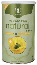 Genisoy Natural Soy Protein Powder, 16 Fluid Ounce