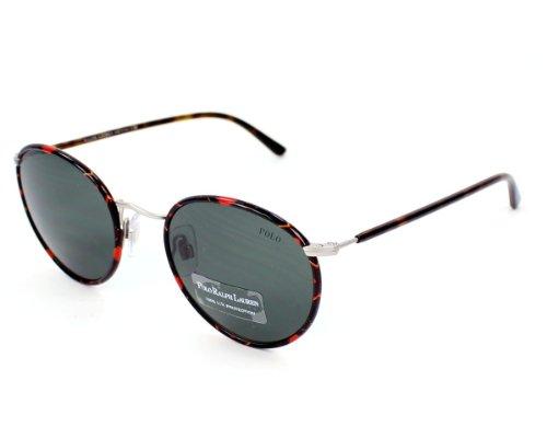 Polo 3057 908871 Tortoise 3057 Round Sunglasses