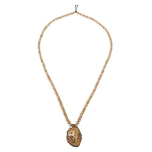 Wood Fellas Necklace, Color:Lion King wheat;Größe:one-size