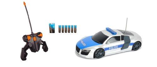 Dickie Spielzeug 201119059 - RC Highway Patrol, Ready to Run, 2-Kanal Funkfernsteuerung,  28 cm,