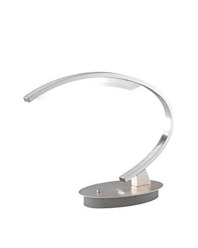 WOFI Lámpara De Mesa LED Segura Metal