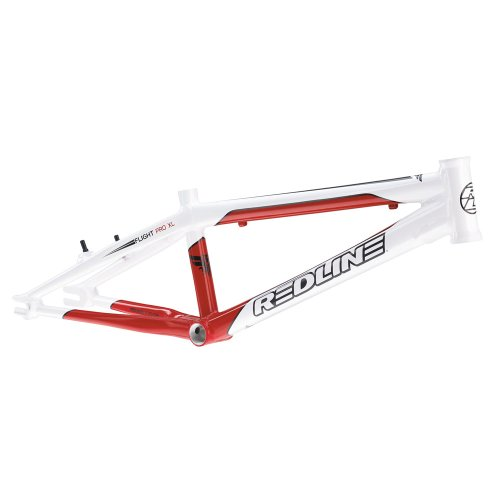 Redline 2012 Flight Team Carbon Pro XL Frame - Carbon/White