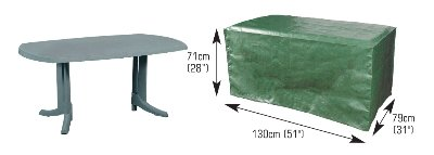 Rectangular Table Cover - 4 Seat Picture