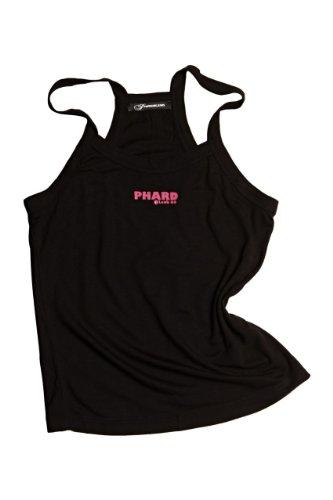 Phard Babe Jeans Top Tank GABLE, bambina, Colore: Nero, Taglia: 164